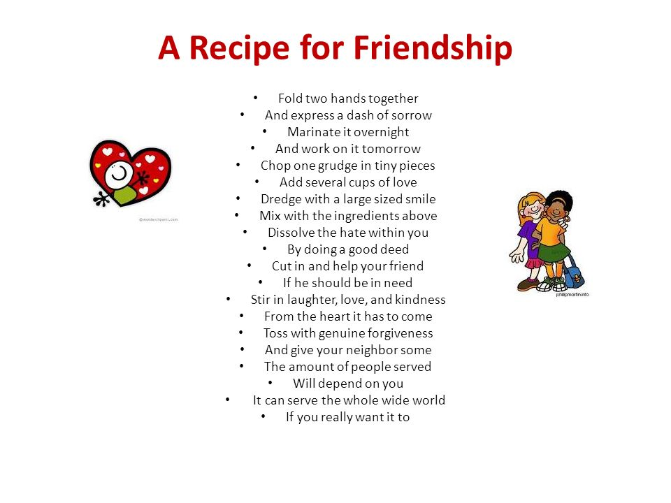 Recipe Poems Ppt Download