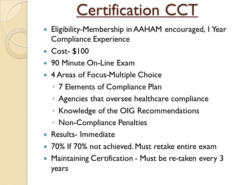 AAHAM Certification Programs - ppt video online download