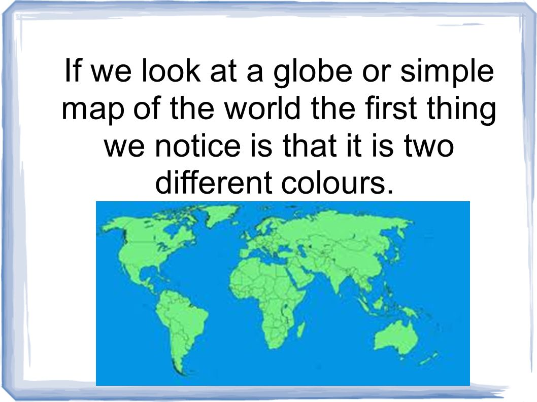 Picture of: Continents And Oceans Ppt Video Online Download