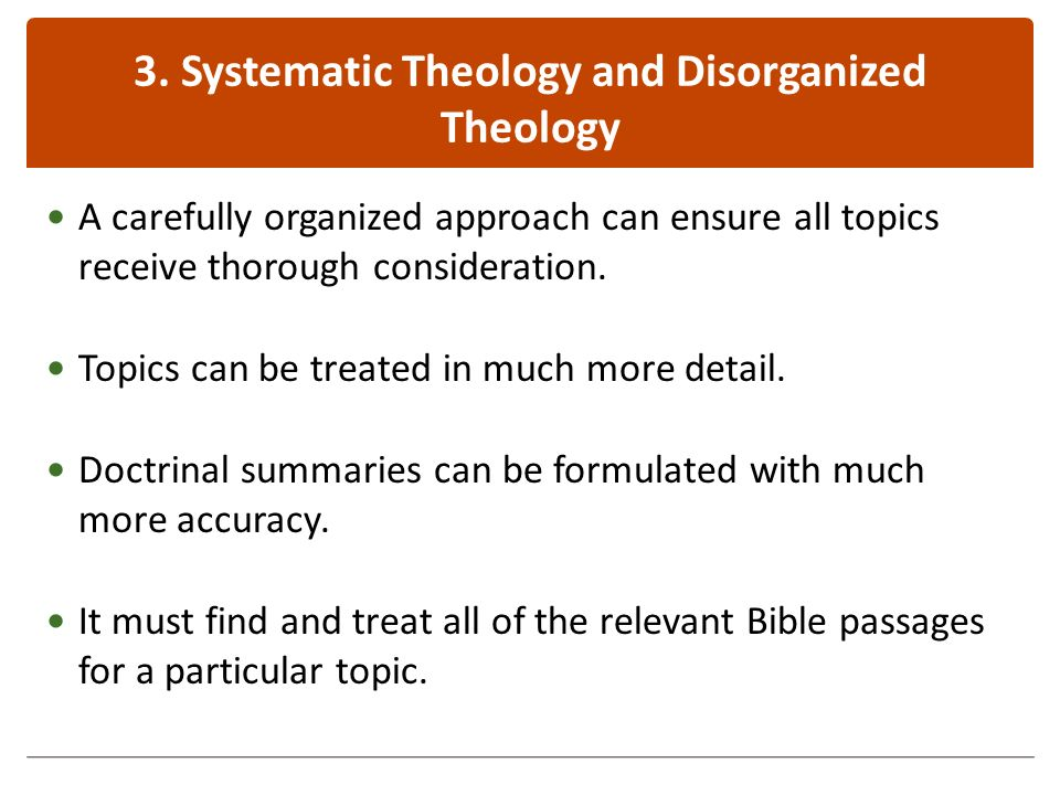 Systematic Theology: An Introduction to Bible Doctrine - ppt