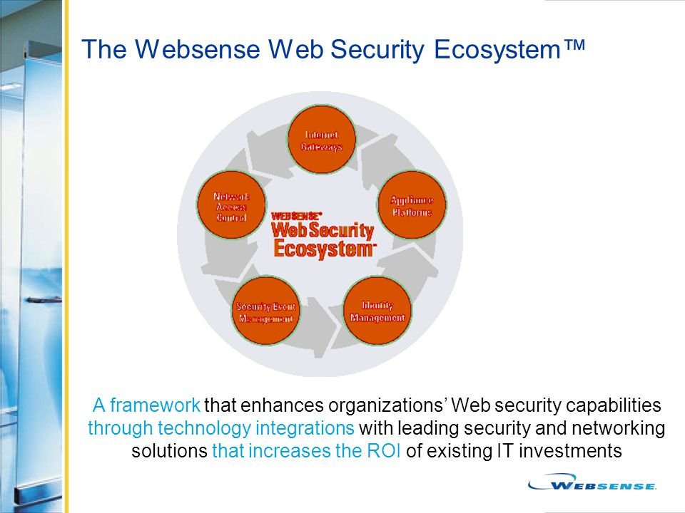 The Websense Web Security Ecosystem™