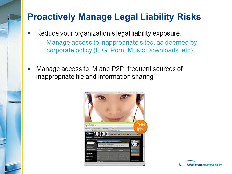 Proactively Manage Legal Liability Risks