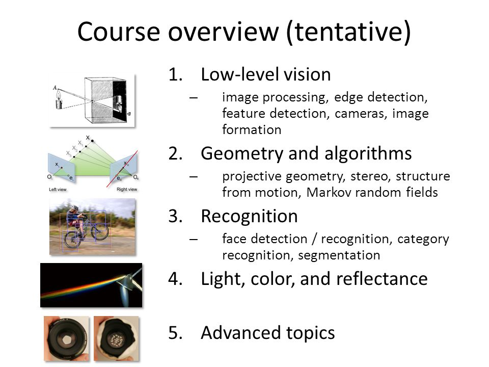 Why is computer vision difficult? - ppt video online download
