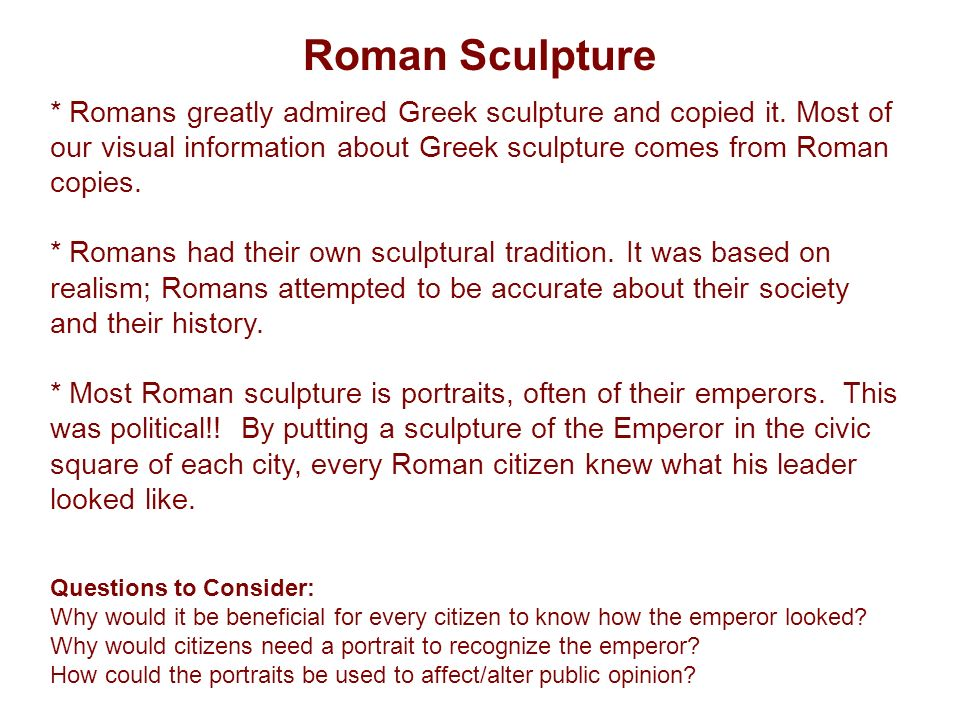 Roman Empire, 500 BCE – 350 ACE Architecture- concrete had