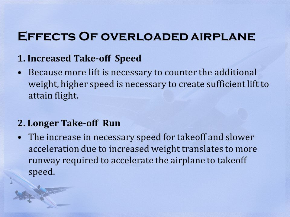 Lecture 2: Composition of Aircraft Weight - ppt video online