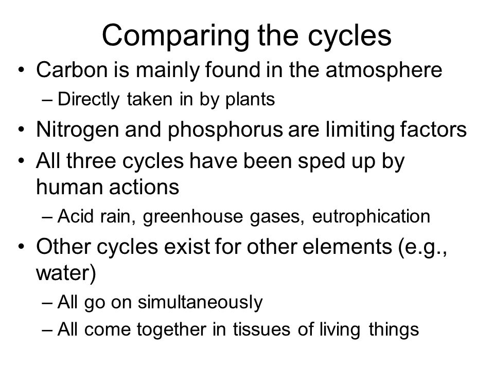 Mechanical energy moving thinking living ppt download comparing the cycles carbon is mainly found in the atmosphere ccuart Choice Image