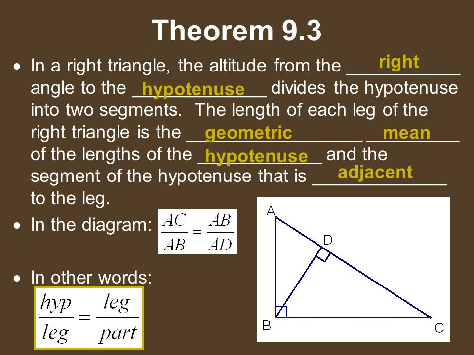91 Old Geometry Book Similar Triangles Ppt Download. Worksheet. Geometric Mean Theorem Right Triangle Worksheet At Clickcart.co