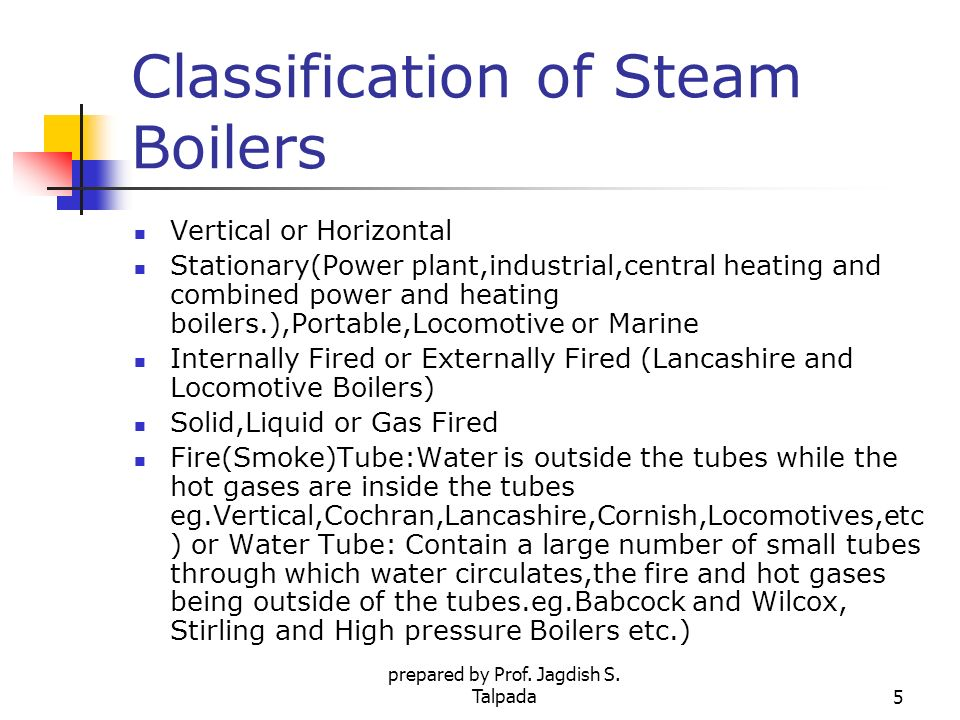 High Pressure Boilers & Accessories - ppt video online download