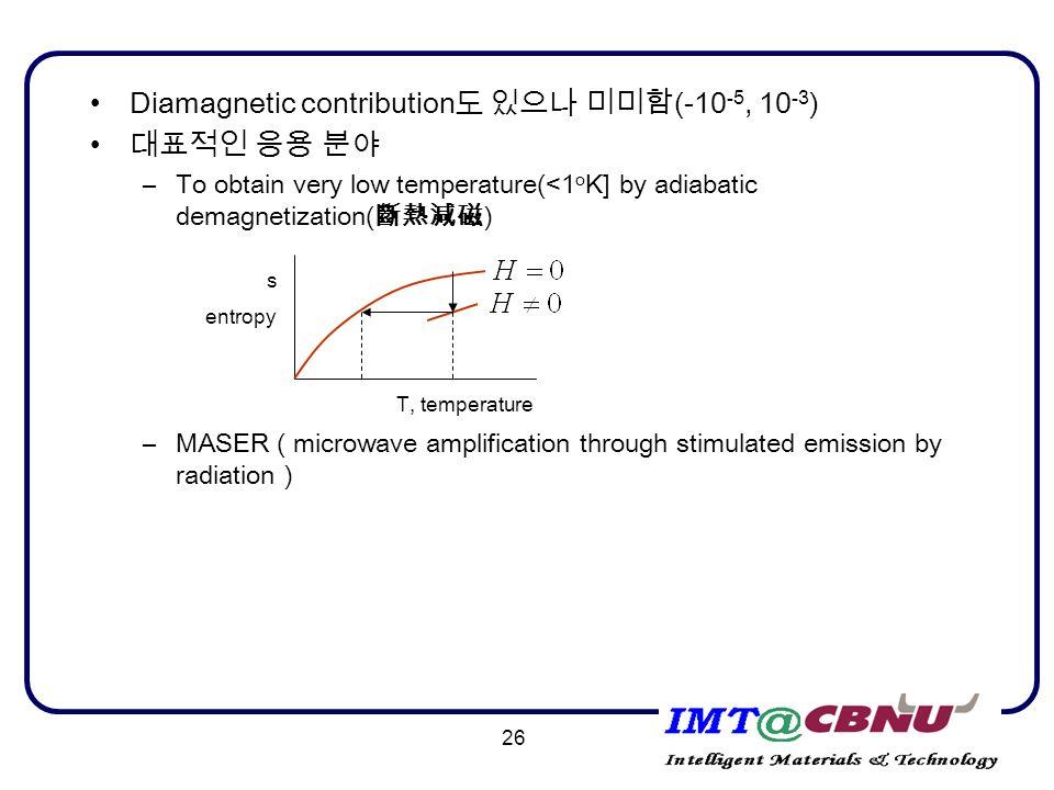 properties of diamagnetic materials pdf