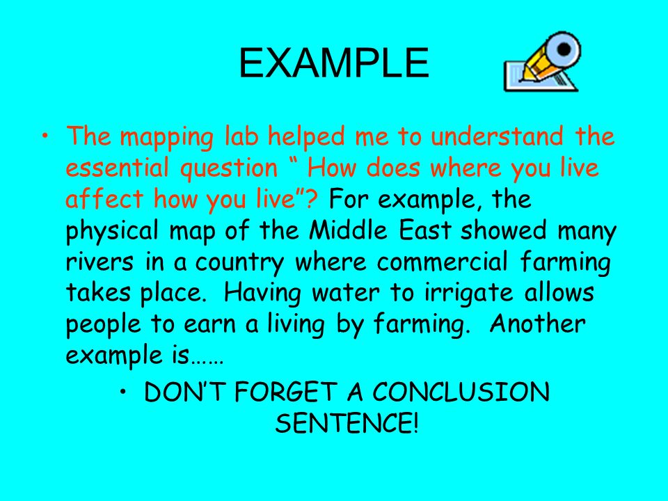 Geography Reflection How has the Mapping Lab helped you in answering ...