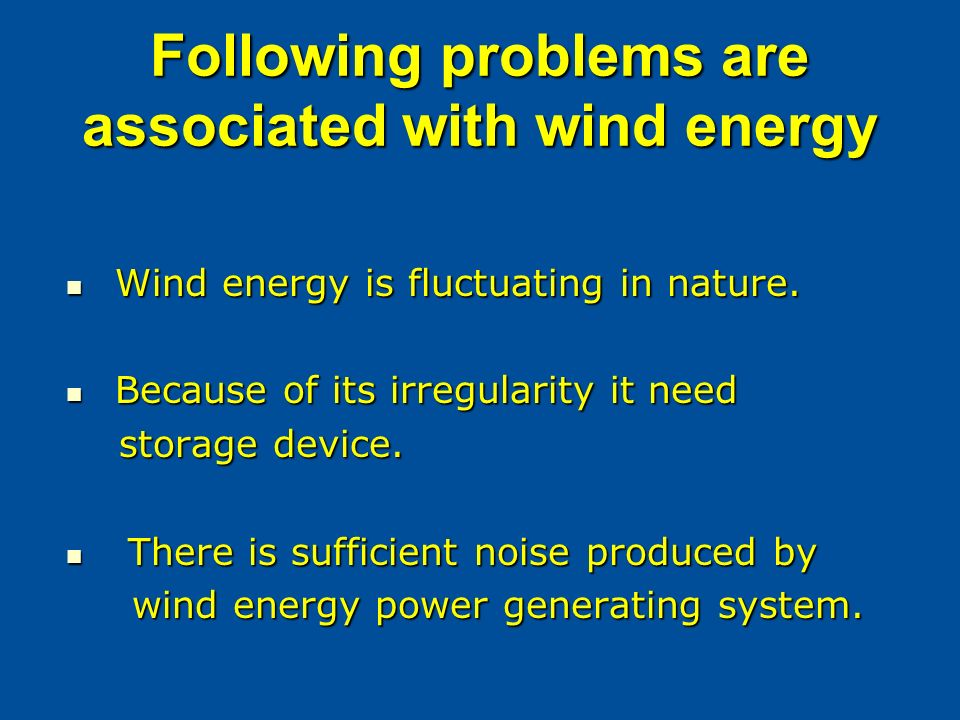 TOPIC: WIND ENERGY  - ppt video online download