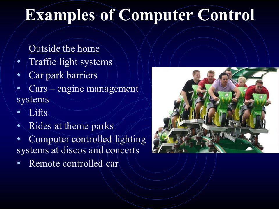 Examples Of Computer Control