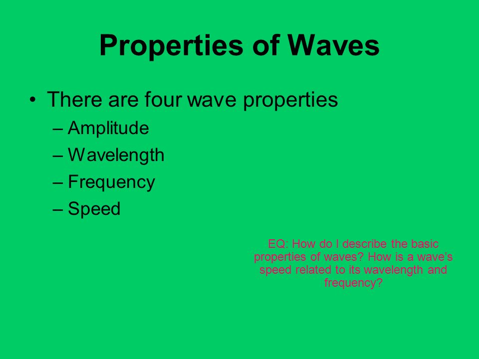 3 Properties: Properties Of Waves Worksheet At Alzheimers-prions.com