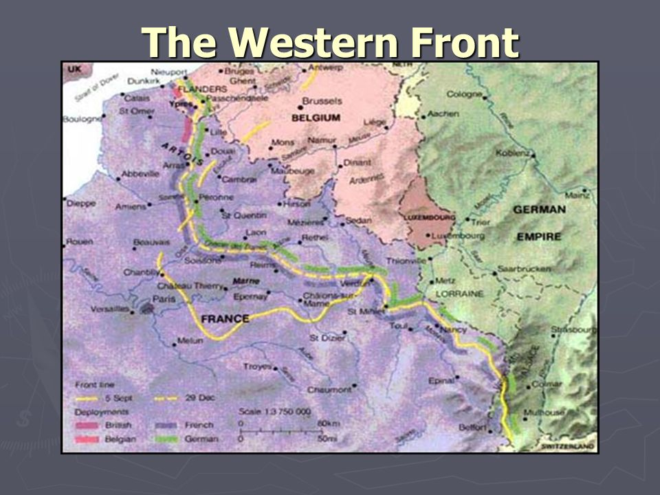 The Western Front and Life in the Trenches - ppt download