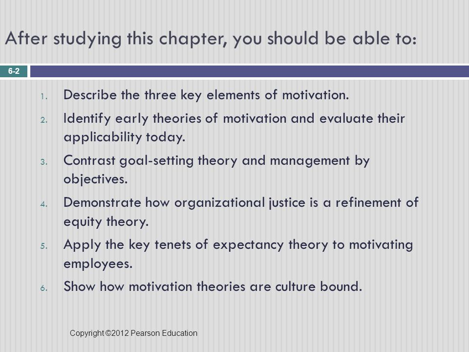 describe equity theory