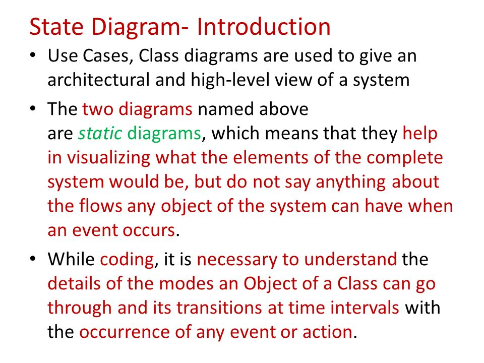 State activity diagrams ppt video online download 3 state diagram introduction ccuart Gallery