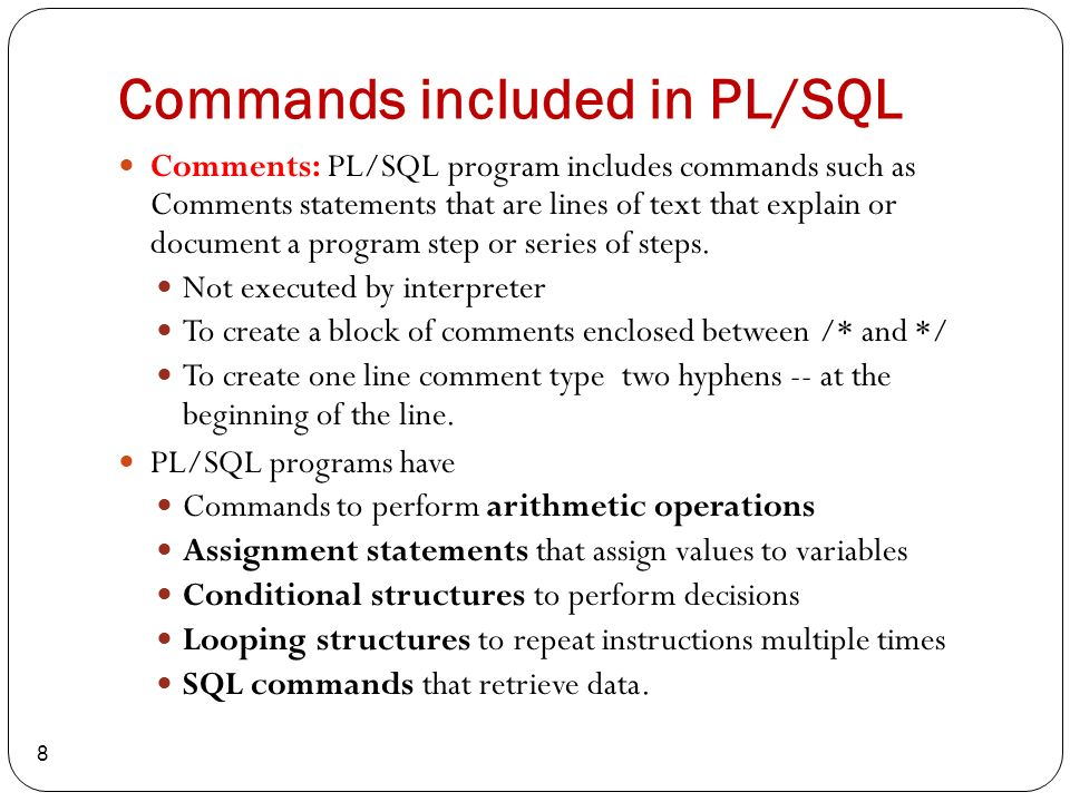 pl sql chapter ppt download rh slideplayer com Step by Step Drawing Pinata Step by Step Guide