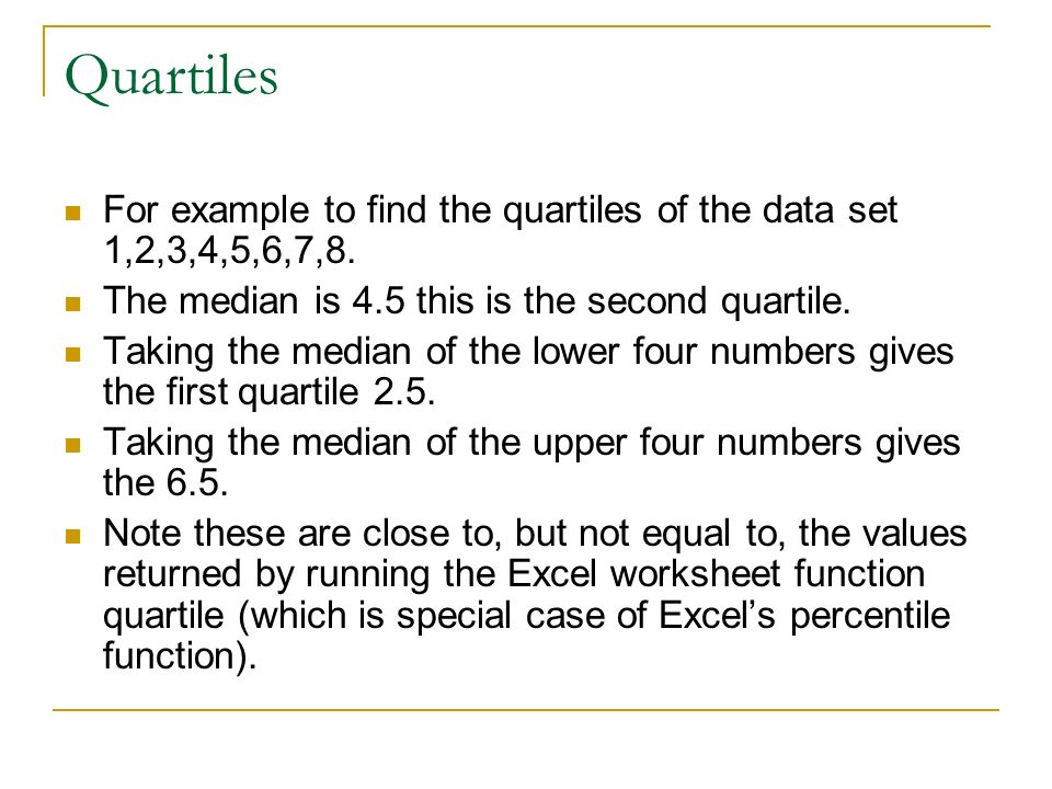 Numerical Statistics Given A Set Of Data Numbers And Context We. Worksheet. Worksheetfunction Median At Clickcart.co