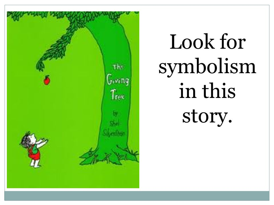 symbolism in a story