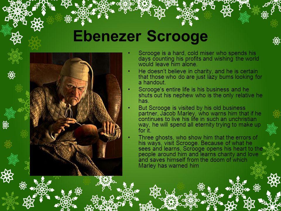 Ebenezer Scrooge Christmas Carol Characters.Major Characters A Christmas Carol Ppt Download