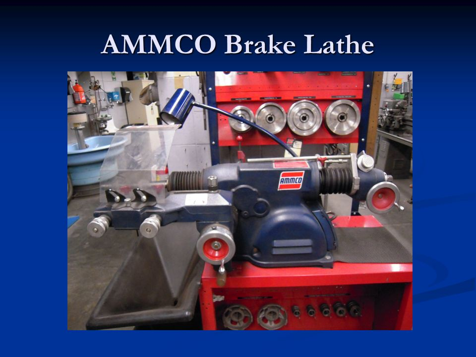 Automotive AMMCO Brake Lathe  - ppt video online download
