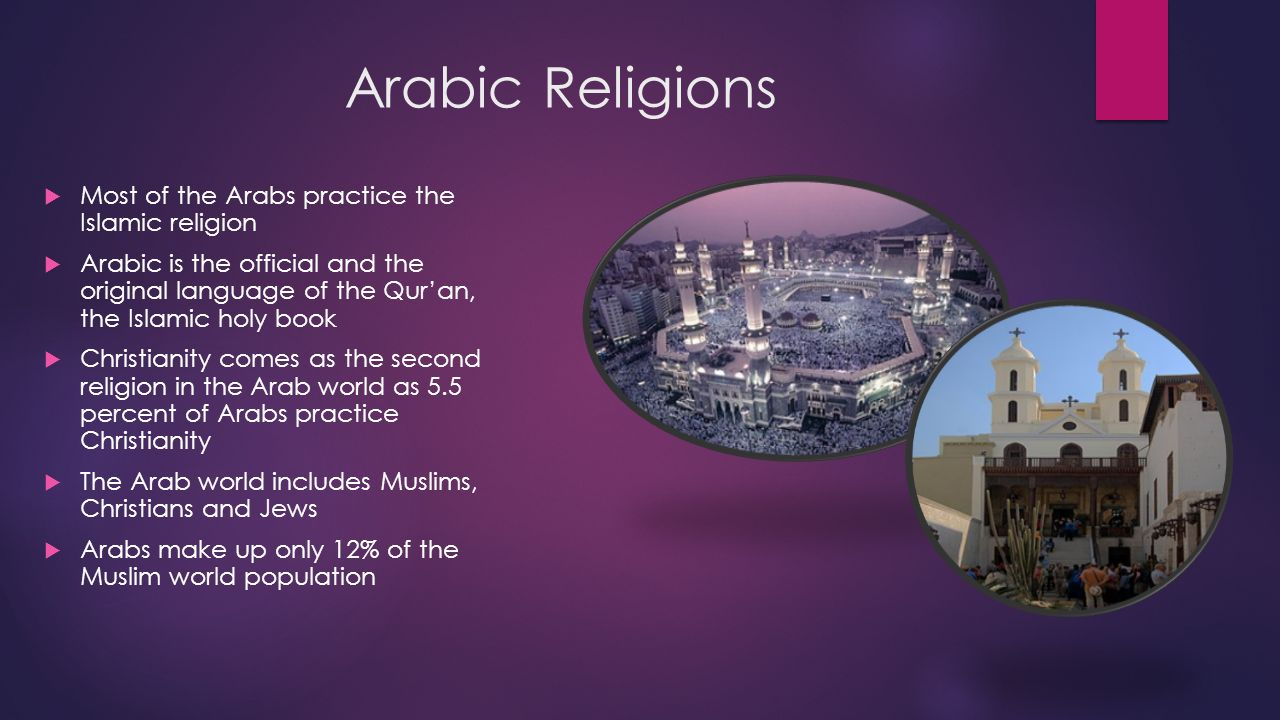 arabic religion muslims