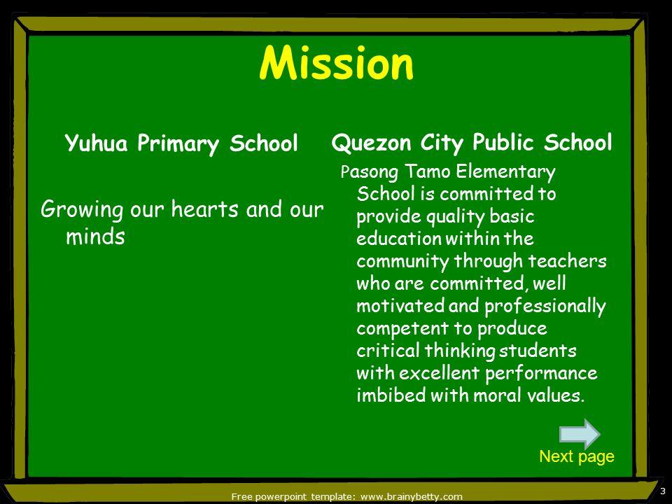 Philippine public school setting ppt video online download free powerpoint template brainybetty toneelgroepblik Gallery