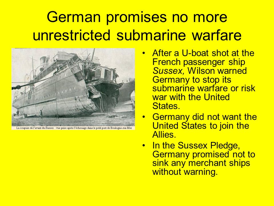 In the sussex pledge germany promised images 709