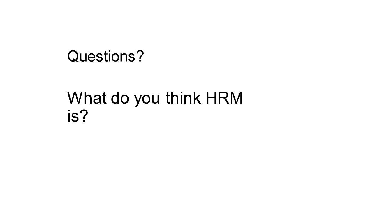 Human Resource Management (HRM 401) - ppt video online download