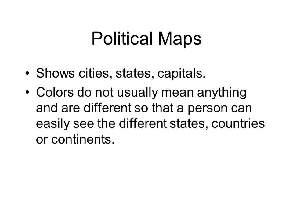 Political Physical Topographic And Thematic Maps Ppt Video