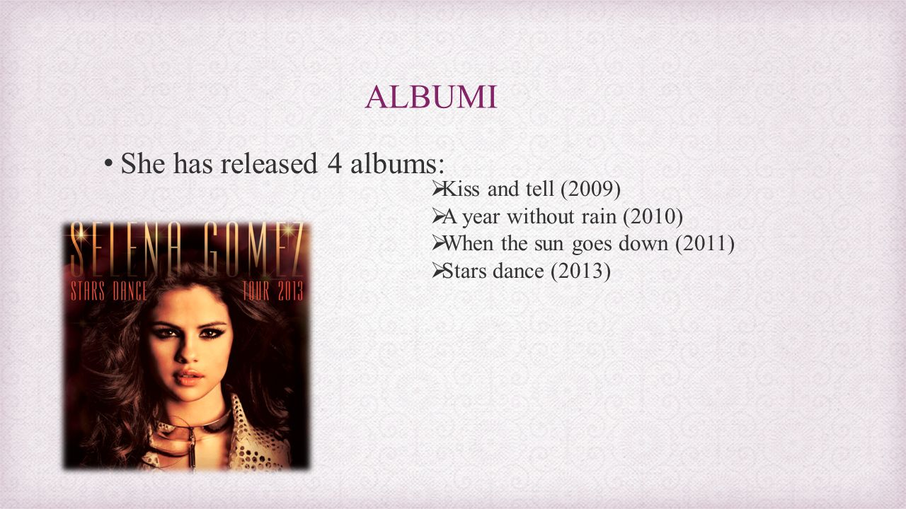 selena gomez maša vidervol, 8.a. - ppt video online download
