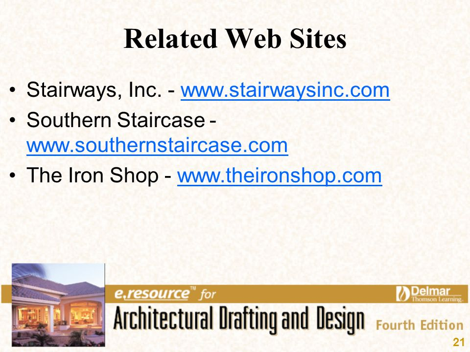 Related Web Sites Stairways, Inc.