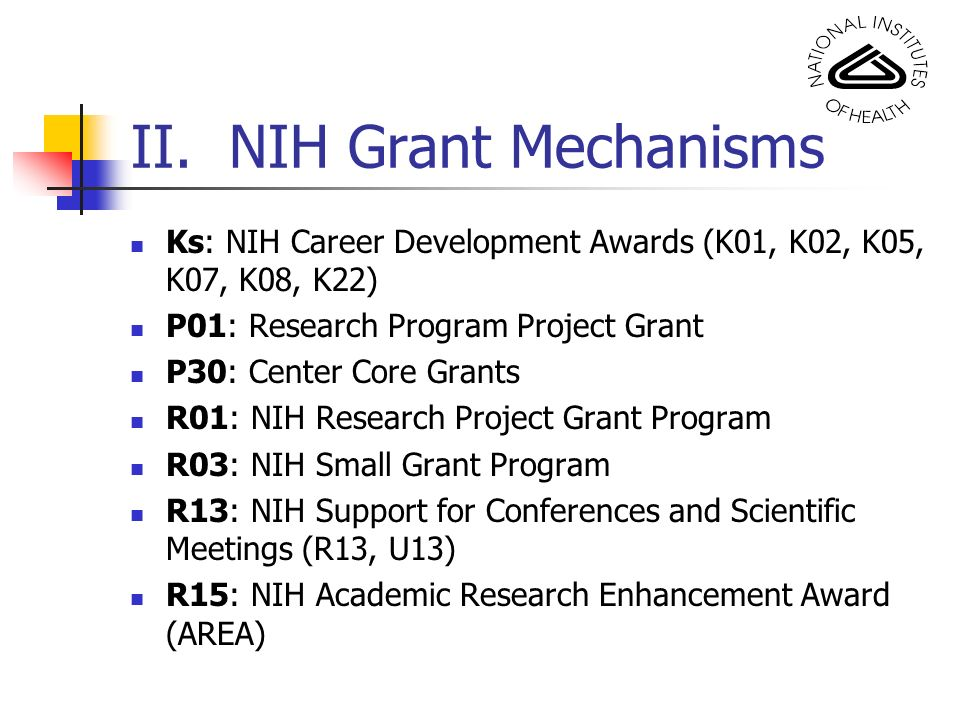 nih grant writing workshop Grant writing seminars and workshops/courses are designed for research fellows, clinical fellows, postdoctoral fellows (irtas), and visiting fellows the grant writing seminars at the nih are offered through the office of extramural research (oer) and the office of intramural training and education.