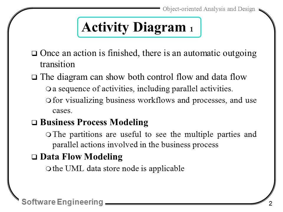 Chap 28 uml activity diagrams and modeling ppt video online download 2 activity ccuart Gallery