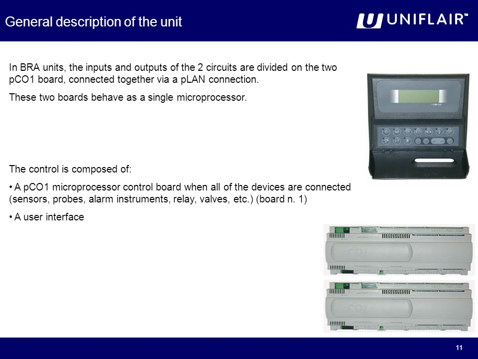 Uniflair Serie BRA  - ppt video online download