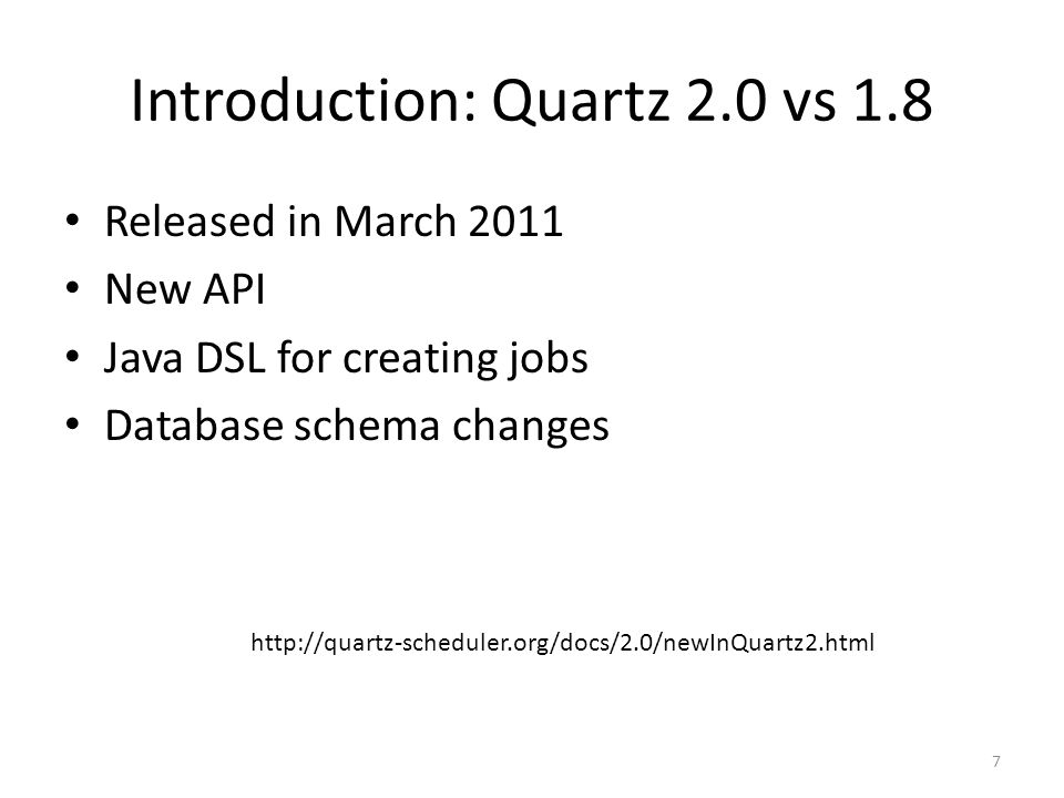 Exploring Quartz Scheduler - ppt video online download