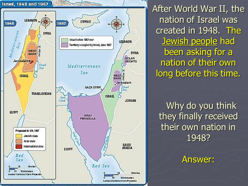 Southwest asia middle east same thing ppt download after world war ii the nation of israel was created in 1948 gumiabroncs Image collections