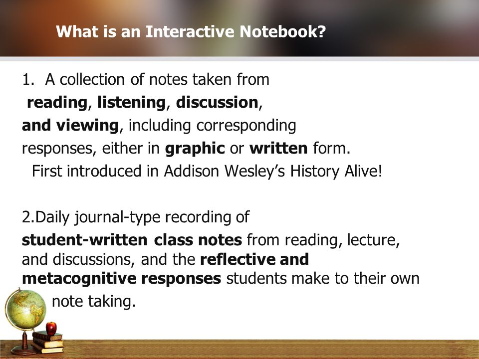 Scaffolding Your ELL Students With Interactive Notebooks