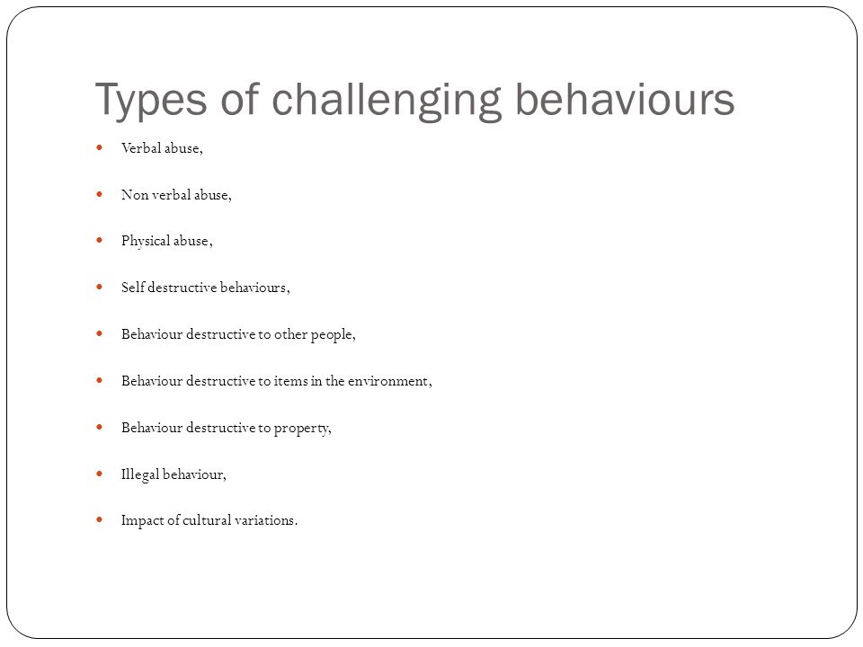 Challenging Behavior And Impact On >> Btec Diploma In Health And Social Care Ppt Video Online Download