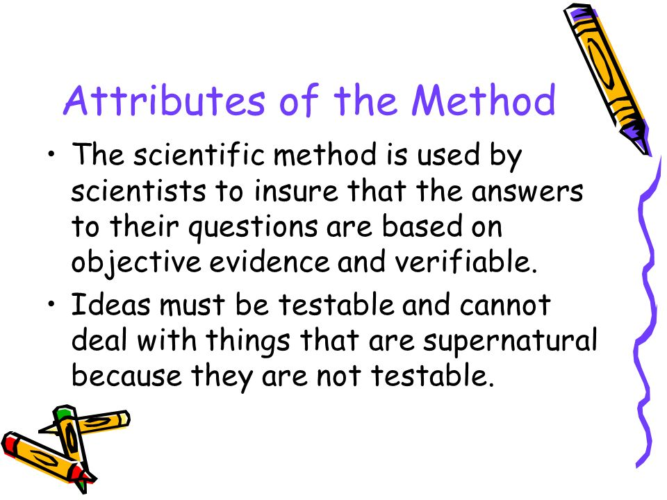 Attributes of the Method