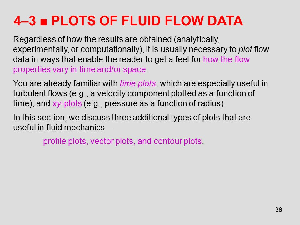 Chapter 4 FLUID KINEMATICS - ppt download