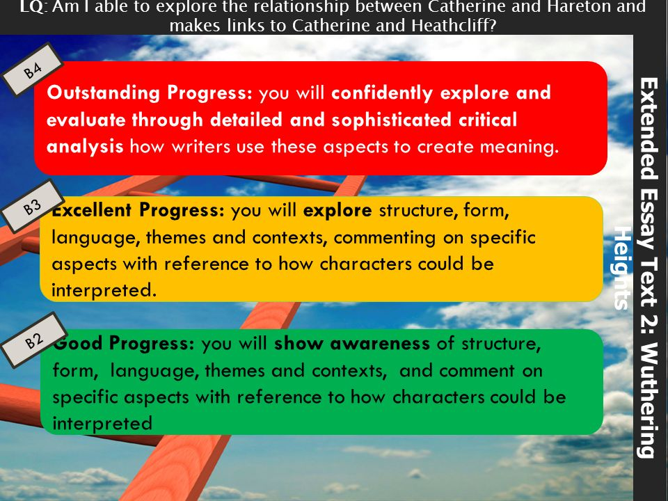 Advanced English Essay Extended Essay Text  Wuthering Heights English Literature Essay Questions also Computer Science Essay Wuthering Heights Emily Bronte  Ppt Video Online Download Sample Essays High School Students
