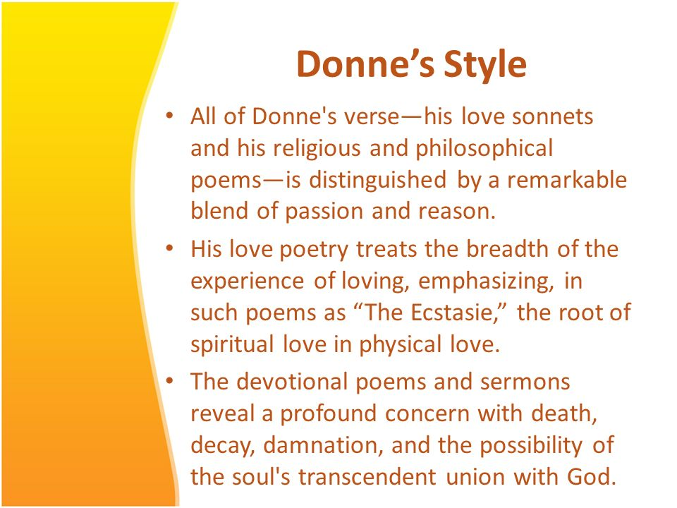 Metaphysical Poets John Donne and Beyond  - ppt download
