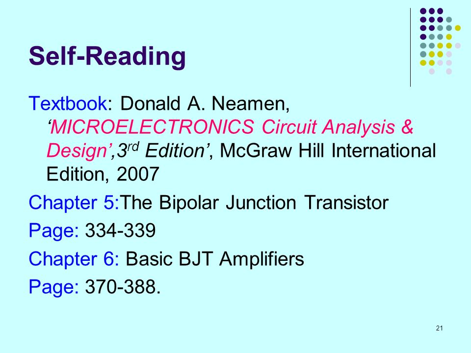 Microelectronics Circuit Analysis And Design By Donald Neamen Pdf