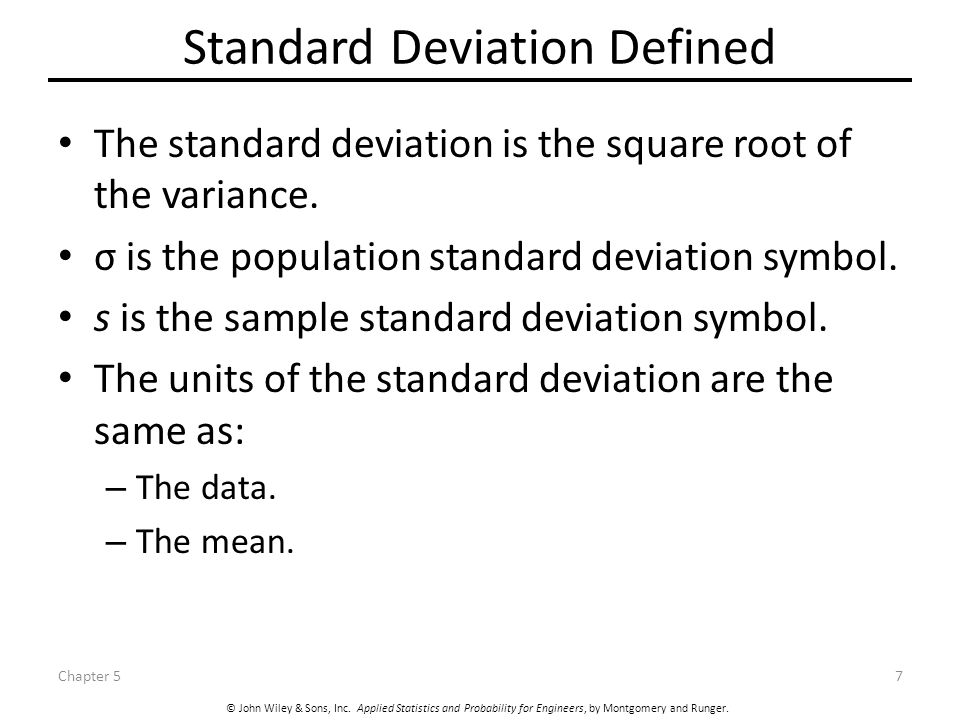population standard deviation help essay In statistics, the standard deviation is a measure that is used to quantify the amount of variation or dispersion of a set of data values a low standard deviation indicates that the data points tend to be.
