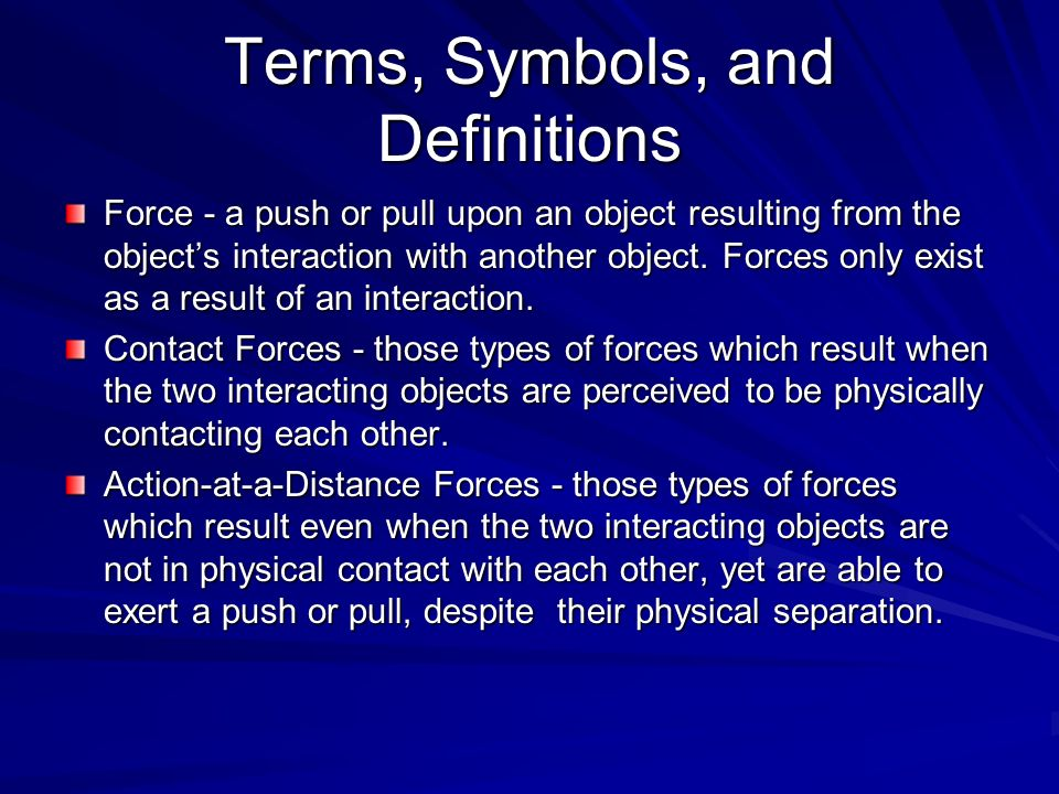 Types Of Forces Ppt Download