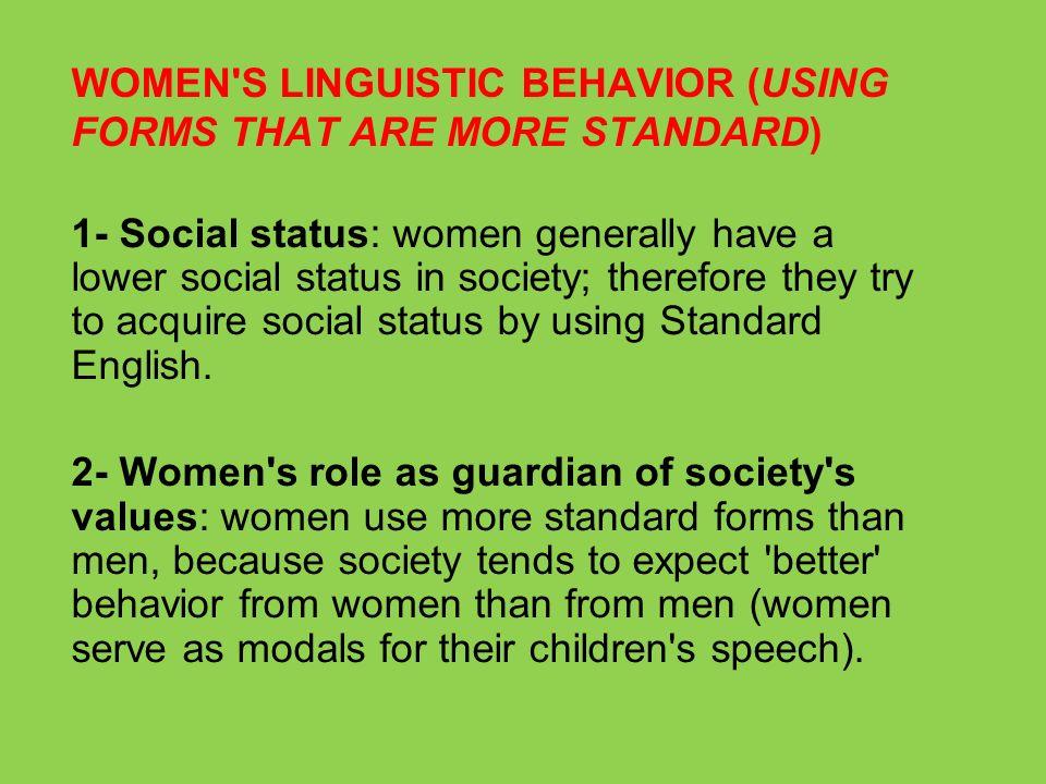 speech on womens role in society