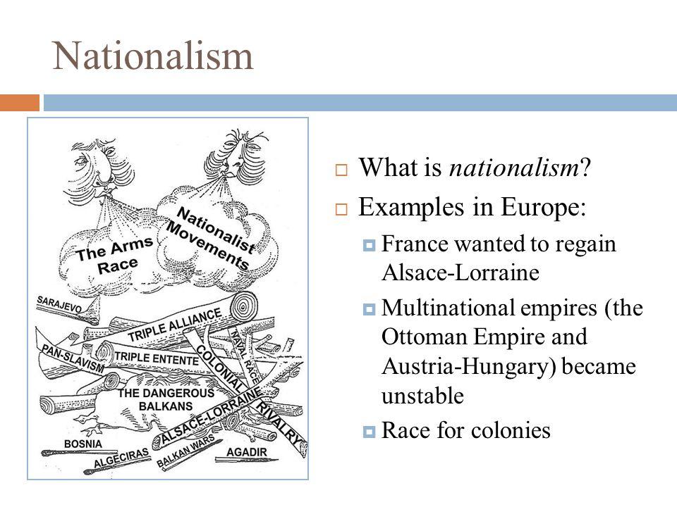 I'm no racist, i'm a nationalist!
