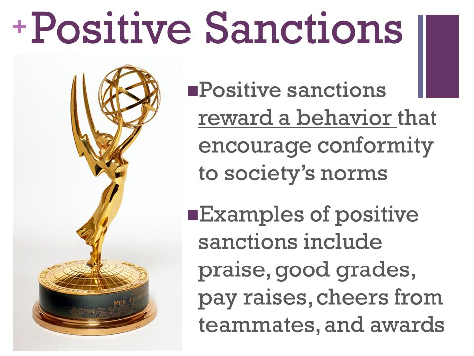 positive sanction definition