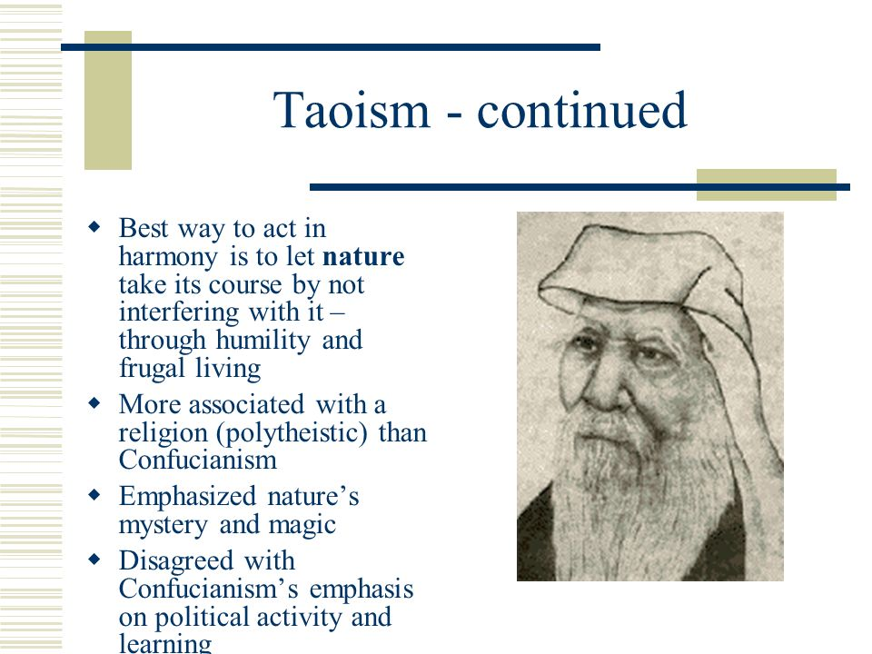 similarities between confucianism and taoism